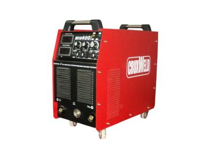 INMIG 400AMP SETTING THE CURRENT IN MIG WELDING MACHINE